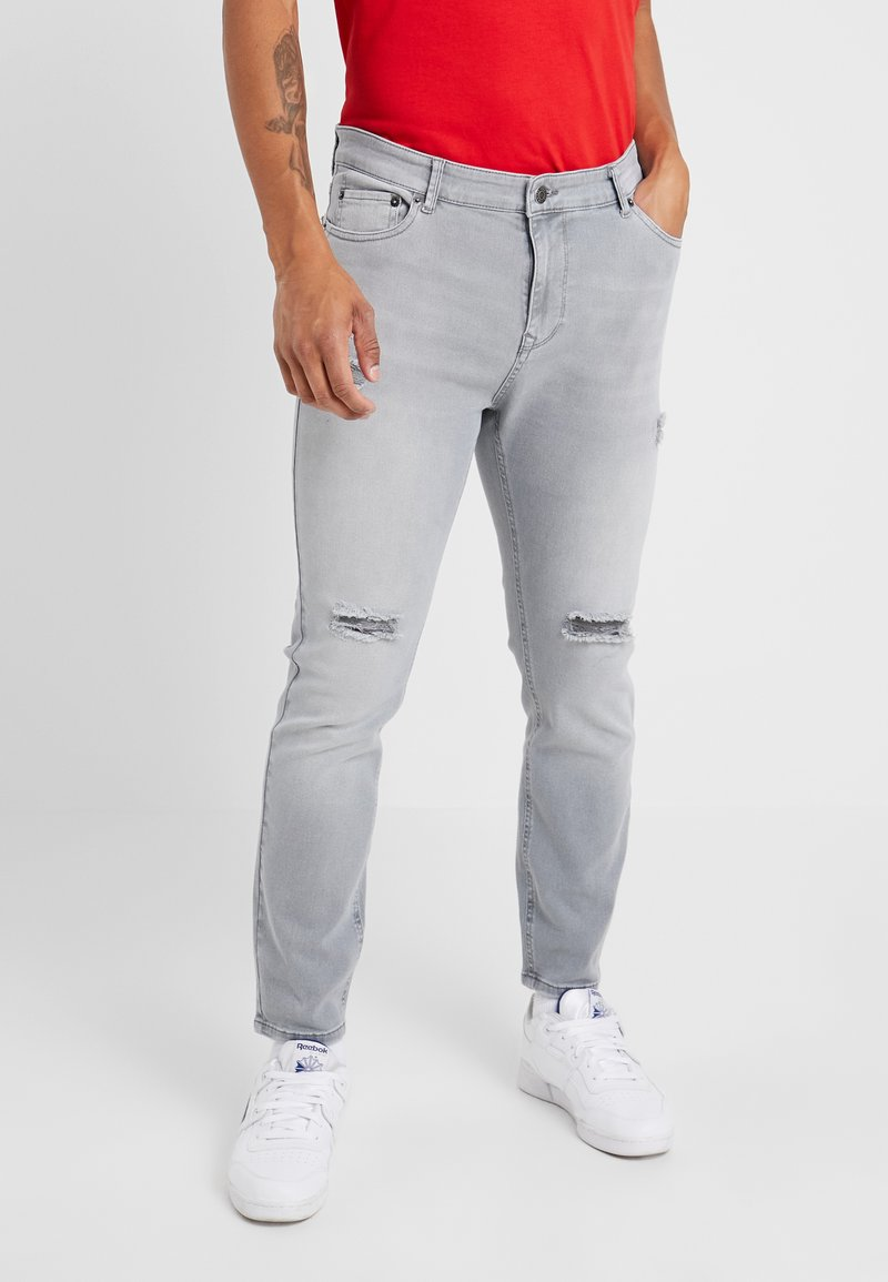 YOURTURN - Jeans Tapered Fit - grey