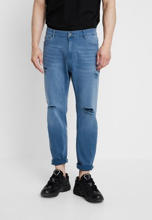 Jeans Tapered Fit - petrol