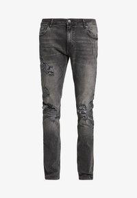 YOURTURN - Jeans slim fit - grey denim - 3