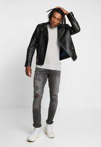 YOURTURN - Jeans slim fit - grey denim - 1