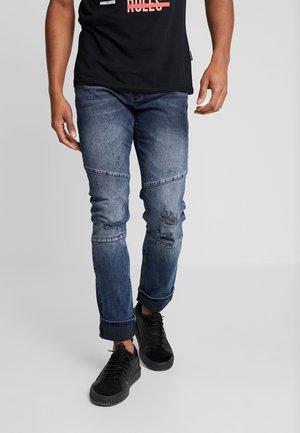 Vaqueros slim fit - blue black denim