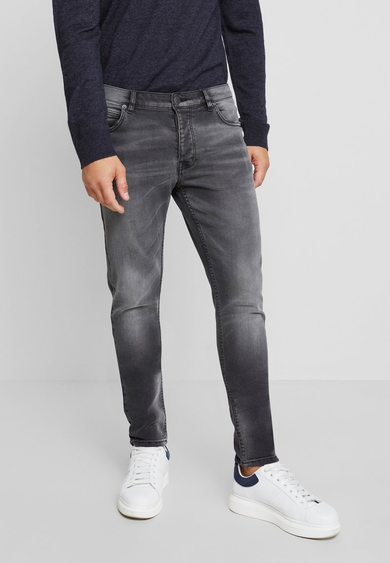 YOURTURN - Vaqueros pitillo - grey denim