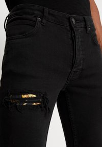 YOURTURN - Vaqueros pitillo - black denim - 3