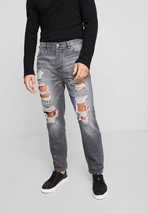 Jeansy Slim Fit - dark gray