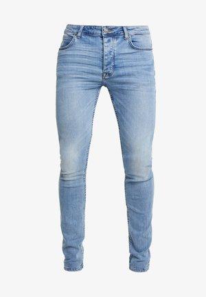 Jeans Skinny - bleached denim