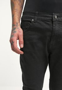 YOURTURN - Jeansy Slim Fit - black denim - 4