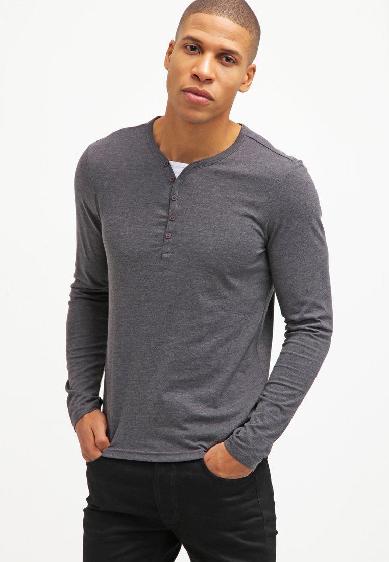 YOURTURN - Bluzka z długim rękawem - dark grey melange