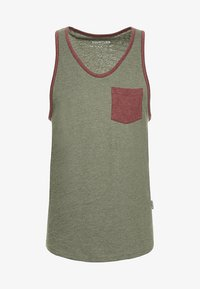 YOURTURN - Top - mottled olive - 3