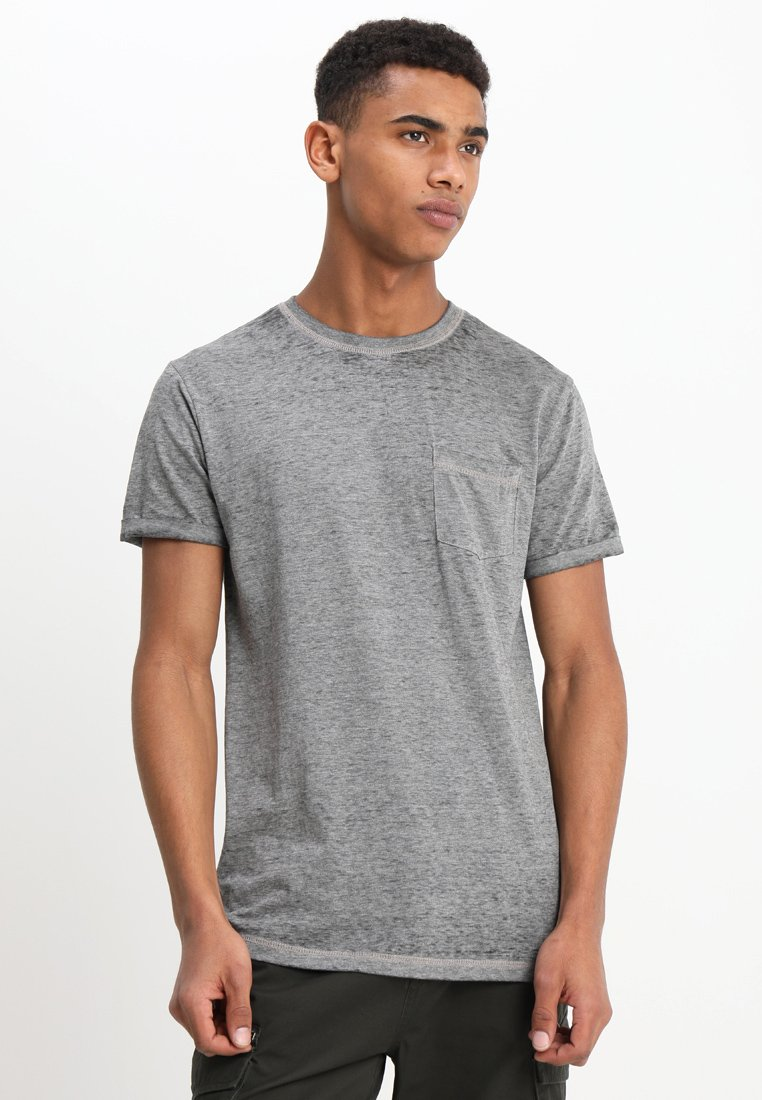 YOURTURN - T-Shirt basic - grey