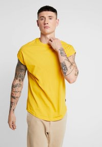YOURTURN - T-shirt basic - yellow - 0