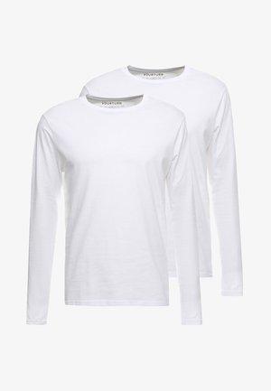2 PACK - Top sdlouhým rukávem - white
