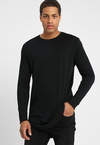 YOURTURN - Long sleeved top - black - 0
