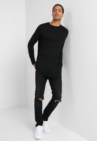 YOURTURN - Long sleeved top - black - 1