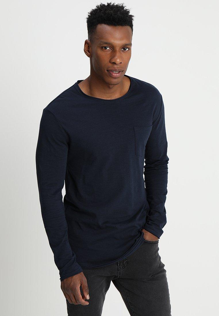 À Manches LonguesDark T shirt Blue Yourturn qSUVMzGp