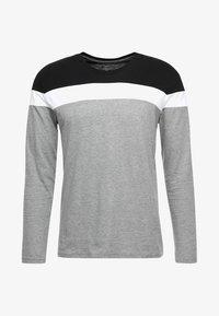 black/white/mottled grey
