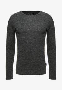 YOURTURN - Long sleeved top - mottled black - 3