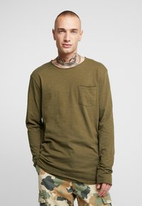 YOURTURN - Long sleeved top - khaki - 0