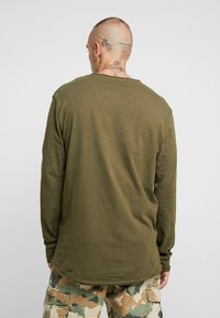 YOURTURN - Long sleeved top - khaki - 2