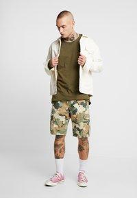 YOURTURN - Long sleeved top - khaki - 1