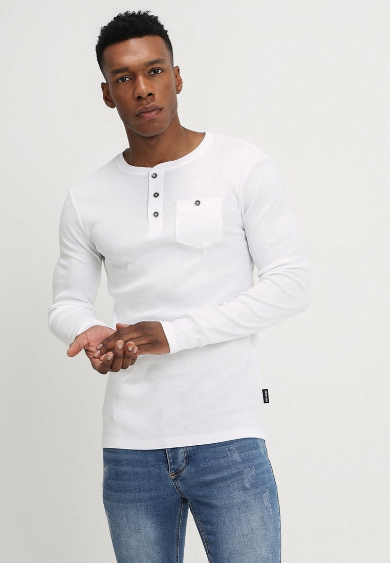 YOURTURN - Long sleeved top - white