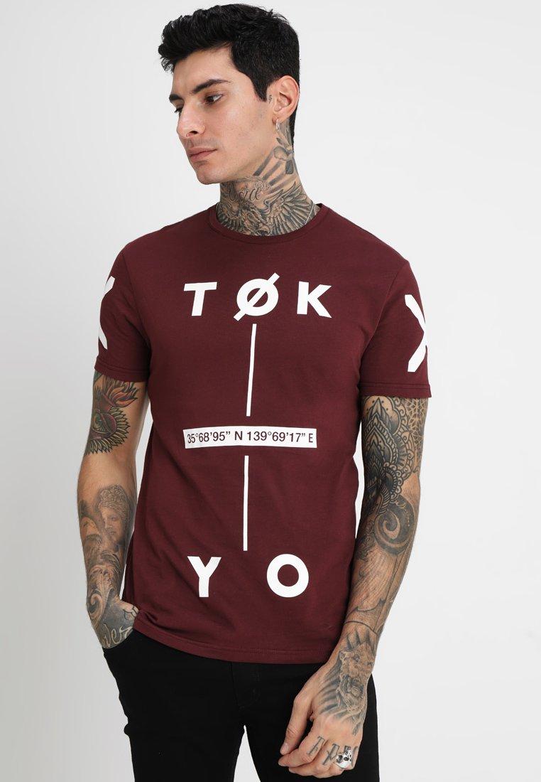 ImpriméBordeaux T Yourturn T shirt Yourturn E2DHY9WI