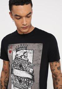 YOURTURN - T-Shirt print - black - 4