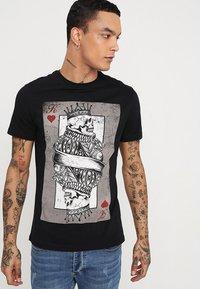YOURTURN - T-Shirt print - black - 0
