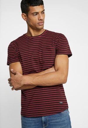 T-shirt imprimé - red/black