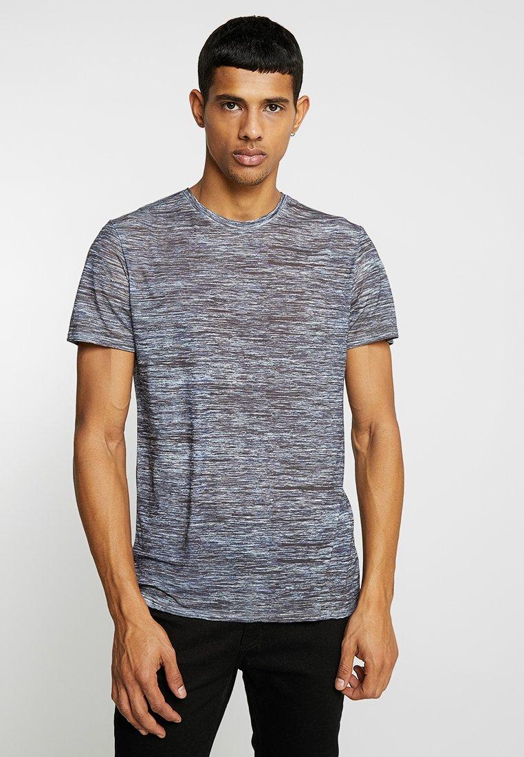 YOURTURN - T-Shirt print - mottled blue