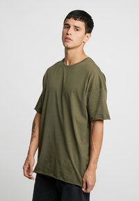 YOURTURN - T-shirts basic - olive - 0