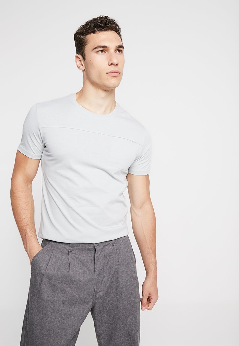 YOURTURN - T-shirts basic - light grey