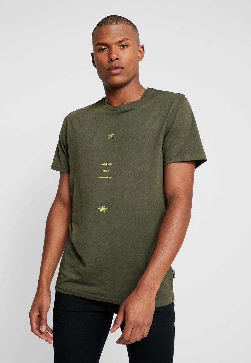 YOURTURN - T-Shirt print - green