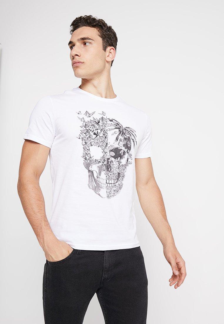 YOURTURN - Camiseta estampada - white