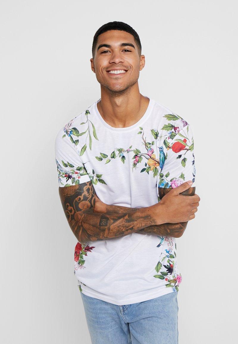 YOURTURN - T-shirt imprimé - white
