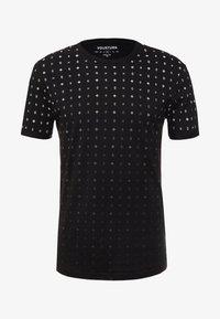 YOURTURN - T-shirt z nadrukiem - black - 3