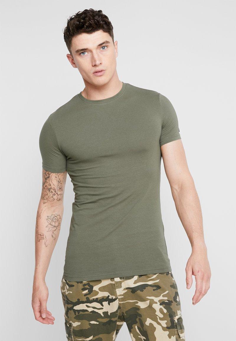 YOURTURN - T-shirts basic - green