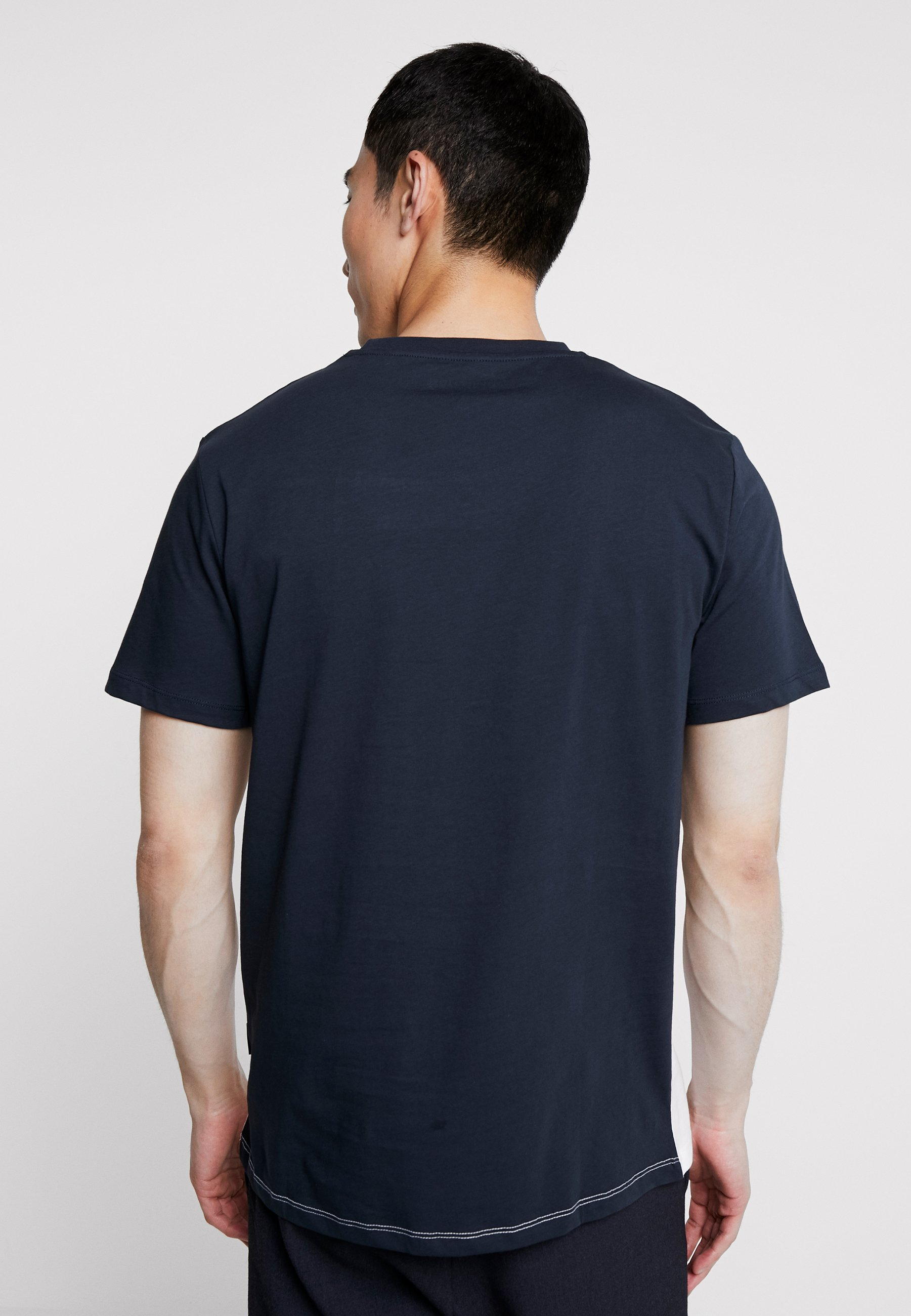 shirt T blue khaki Yourturn ImpriméWhite TlFJc5uK13