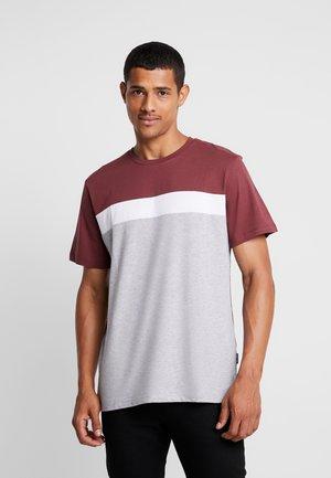 T-shirts print - grey/ off-white