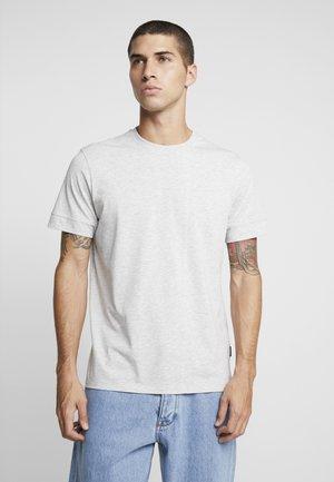 T-shirt basic - mottled light grey