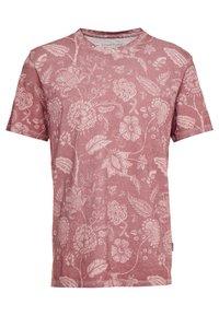 YOURTURN - T-shirt med print - bordeaux - 0