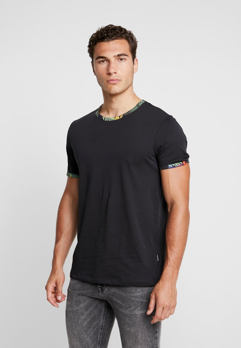 YOURTURN - T-shirts - dark blue