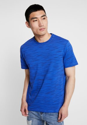 T-shirt basic - mottled blue