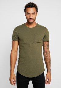YOURTURN - T-Shirt print - olive - 0