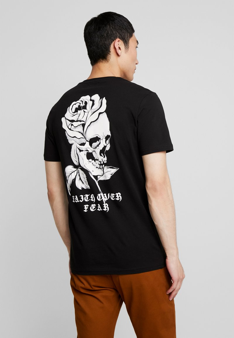 YOURTURN - T-Shirt print - black
