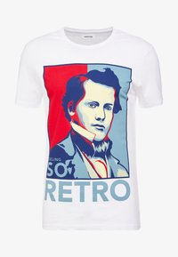 YOURTURN - T-shirts med print - white - 3