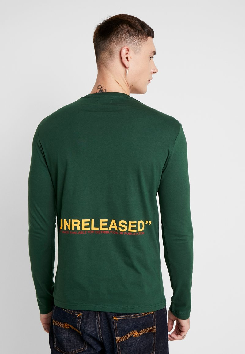 YOURTURN - UNRELEASED MIDDLE - Long sleeved top - green
