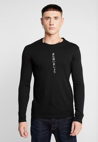 YOURTURN - Bluzka z długim rękawem - black - 2