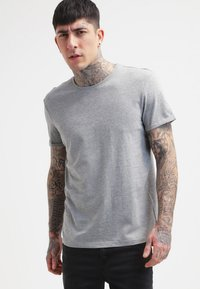 YOURTURN - Basic T-shirt - mottled grey - 0