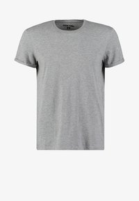 YOURTURN - Basic T-shirt - mottled grey - 4