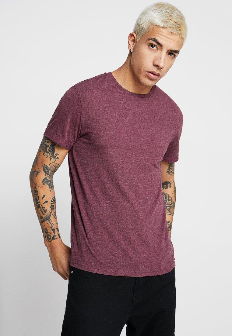YOURTURN - T-shirt - bas - mottled bordeaux